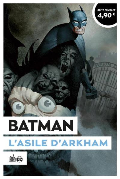 Couverture Batman - L'asile d'Arkham (op été 2021)