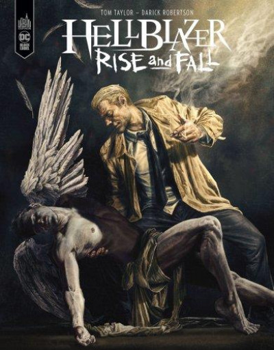 Couverture Hellblazer rise & fall