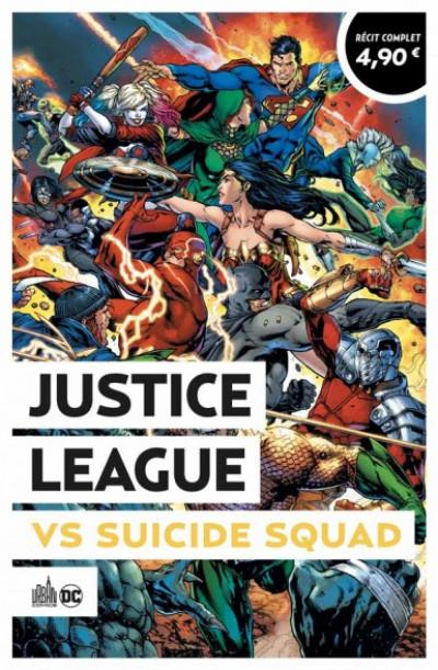 Couverture Justice League VS Suicide Squad (op été 2021)