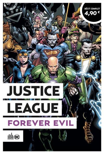 Couverture Justice League - forever evil (op été 2021)