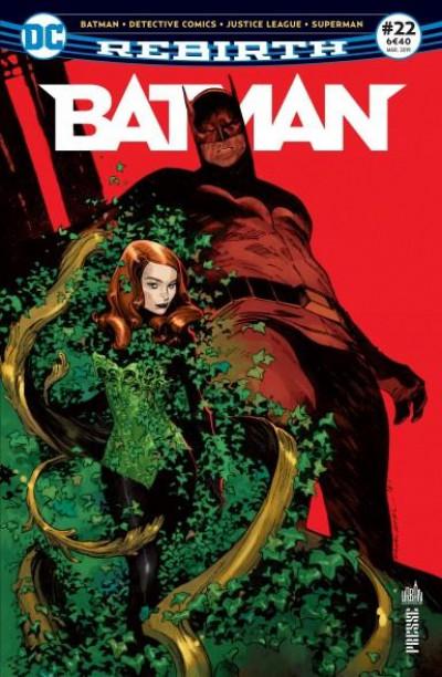 Couverture Batman rebirth tome 22