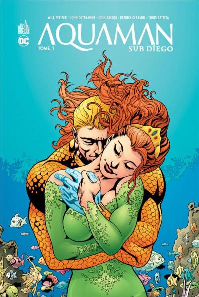 Couverture Aquaman sub-diego tome 2