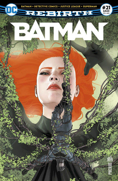 Couverture Batman rebirth tome 21