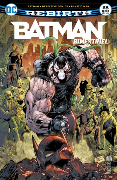 Couverture Batman rebirth (bimestriel) tome 8