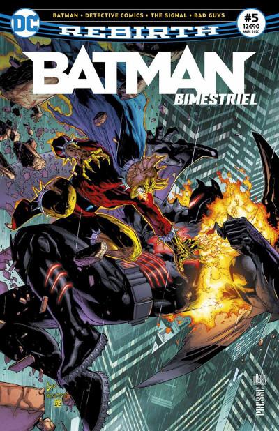 Couverture Batman rebirth (bimestriel) tome 5