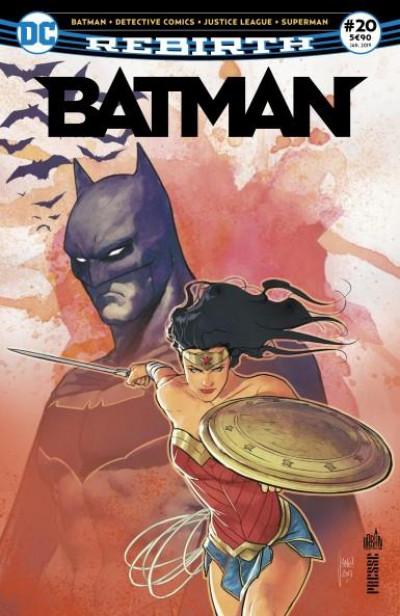 Couverture Batman rebirth tome 20 - Hommage à gueule d'argile