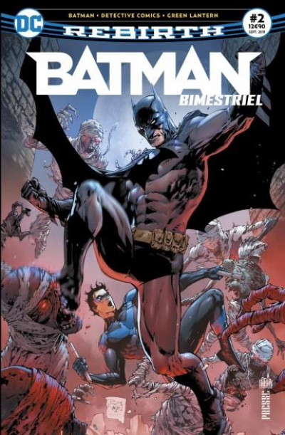 Couverture Batman bimestriel tome 2