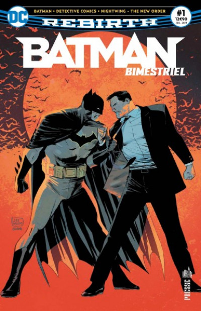 Couverture Batman (bimestriel) tome 1