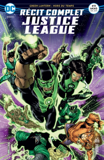 Couverture Justice league récit complet tome 11 - Prisonniers du passé !
