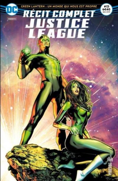 Couverture Justice league récit complet tome  13