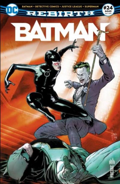 Couverture Batman rebirth tome 24