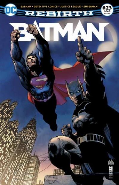 Couverture Batman rebirth tome 23