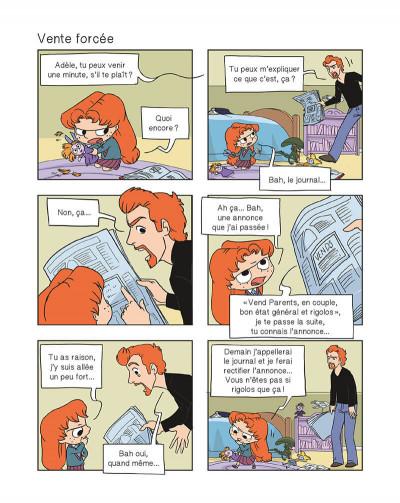 Page 6 mortelle Adèle tome 8 - on ne choisit pas sa famille !