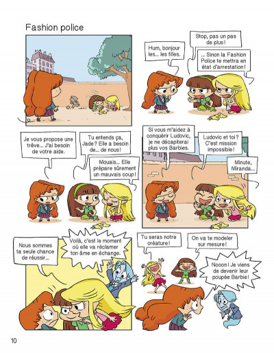 Page 9 Mortelle Adèle tome 10 - Choubidoulove