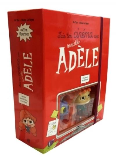 Couverture Mortelle Adèle - Avec 2 figurines : Fais ton cinéma avec Mortelle Adèle figurines