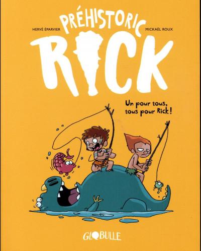 Couverture Préhistoric Rick tome 2