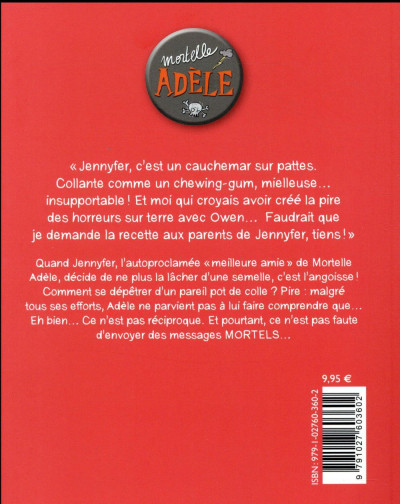 Dos Mortelle Adèle tome 13