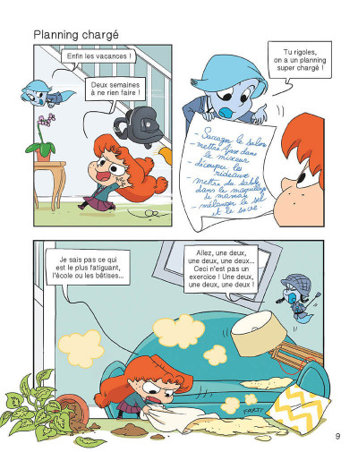 Page 8 Mortelle Adèle tome 15 - Funky moumoute