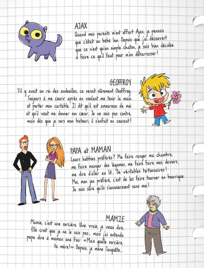 Page 3 Mortelle Adèle tome 16 - Jurassic Mamie