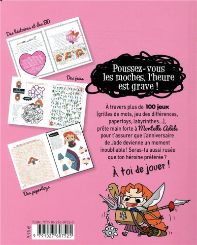 Dos Extra Mortelle Adèle tome 2