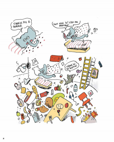 Page 7 Youri et Margarine tome 2