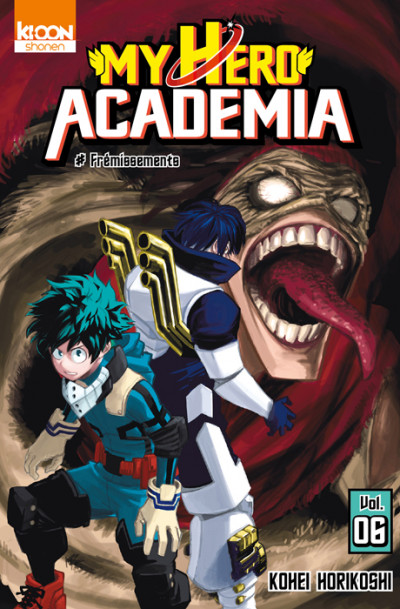 Couverture My hero academia tome 6