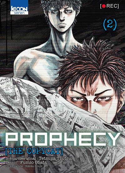 Couverture Prophecy - the copycat tome 2