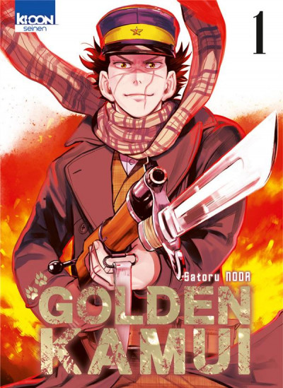 Couverture Golden Kamui tome 1