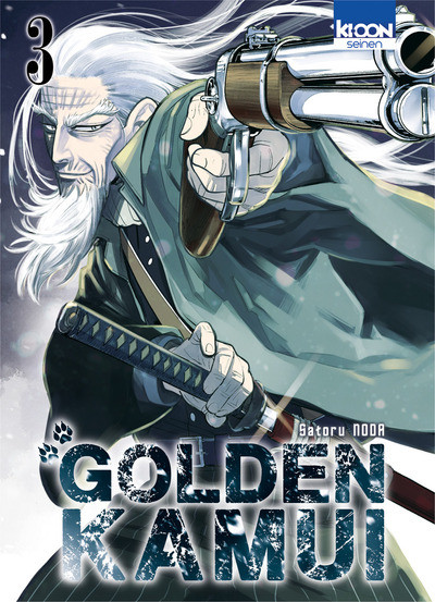 Couverture Golden kamui tome 3