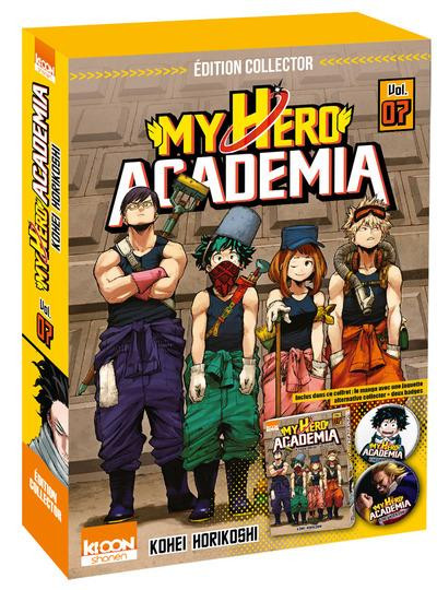 Couverture My hero academia tome 7 - édition collector