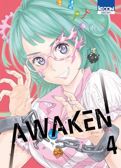 Couverture Awaken tome 4