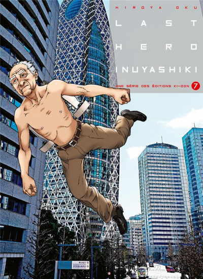 Couverture Last hero inuyashiki tome 7