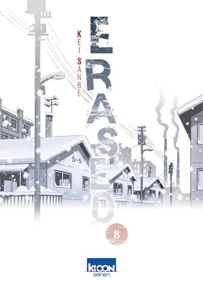 Couverture Erased tome 8