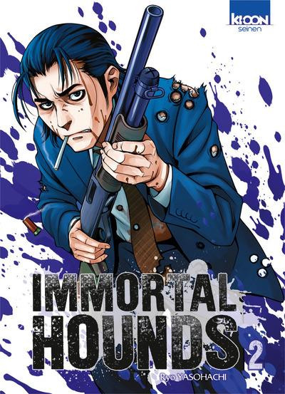 Couverture Immortal hounds tome 2
