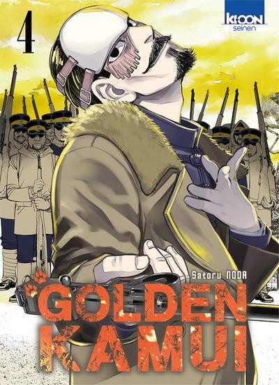 Couverture Golden kamui tome 4
