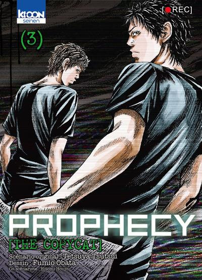 Couverture Prophecy - The copycat tome 3