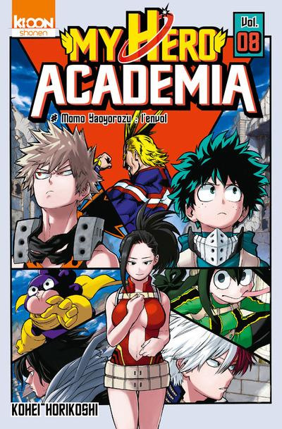 Couverture My hero academia tome 8