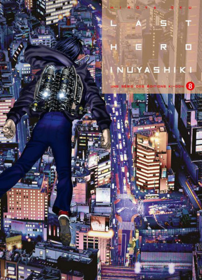 Couverture Last hero Inuyashiki tome 8