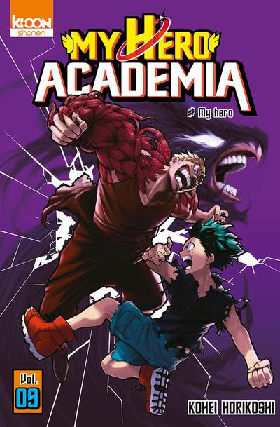 Couverture My hero academia tome 9