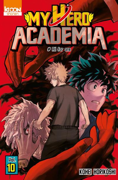 Couverture My hero academia tome 10