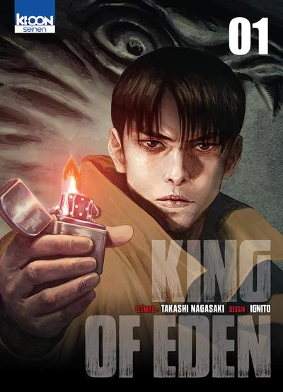 Couverture King of Eden tome 1