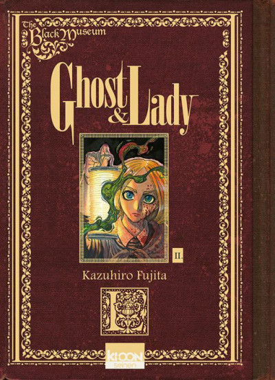 Couverture Ghost & lady tome 2