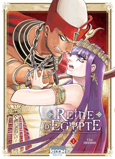 Couverture Reine d'Égypte tome 3