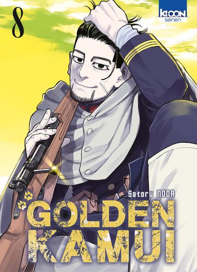 Couverture Golden kamui tome 8