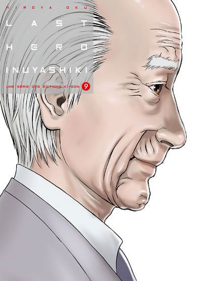 Couverture Last hero Inuyashiki tome 9