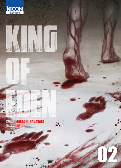 Couverture King of Eden tome 2