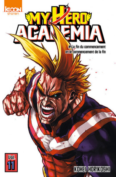 Couverture My hero academia tome 11