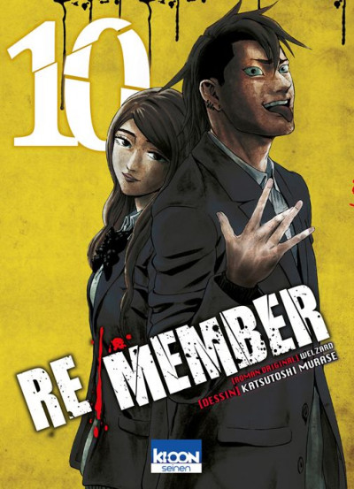 Couverture Re/Member tome 10