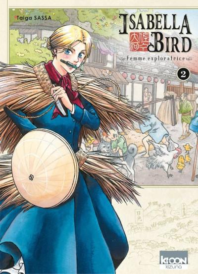 Couverture Isabella Bird - femme exploratrice tome 2