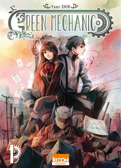 Couverture Green mechanic tome 1